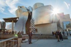 Bilbao muzeum sztuki zdjęcie royalty free