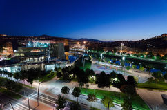 Bilbao at Night. Night scene from Bilbao, Euskadi, Spain Royalty Free Stock Image