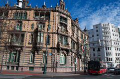 Bilbao, província de Biscaia, país Basque, Espanha, Espanha do norte, península ibérica, Europa Foto de Stock Royalty Free
