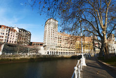 Bilbao, província de Biscaia, país Basque, Espanha, península ibérica, Europa Fotografia de Stock