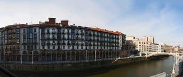Bilbao, província de Biscaia, país Basque, Espanha, península ibérica, Europa Imagens de Stock Royalty Free