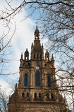 The Basilica of Begona, church, Bilbao, province of Biscay, Basque Country, Spain, Iberian Peninsula, Europe. Bilbao, 25/01/2017: the Basilica of Begona, a XVI Stock Photos