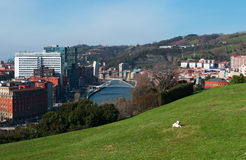 Bilbao, province of Biscay, Basque Country, Spain, Iberian Peninsula, Europe Stock Image