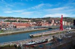 Bilbao, province de Biscay, pays Basque, Espagne, Espagne du nord, péninsule ibérienne, l'Europe Images stock