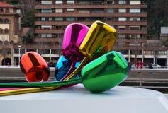 Bilbao, provincia di Biscaglia, Paese Basco, Spagna, Spagna del Nord, penisola iberica, Europa Fotografia Stock Libera da Diritti