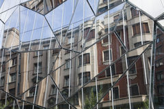 Bilbao-Reflexe Stockfotografie