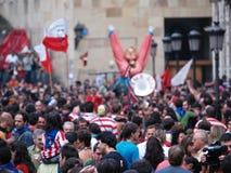Bilbao, Spain - Augoust 16 Semana Grande 2008 Stock Image