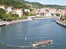Bilbao, Spain - Augoust 17 Semana Grande 2008 Royalty Free Stock Photography