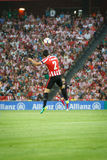 BILBAO, SPAIN - AUGUST 28: Eneko Boveda in the match between Athletic Bilbao and FC Barcelona, celebrated on August 28, 2016 in Bi Stock Photos