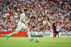 BILBAO, SPAIN - AUGUST 28: Gorka Iraizoz, goalkeeper of Athletic Bilbao, in the match between Athletic Bilbao and FC Barcelona, ce Royalty Free Stock Image