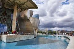 BILBAO, SPAIN, CIRCA AUGUST 2018, Guggenheim stock image