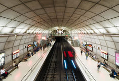 Moyua subway station in Bilbao, Spain Stock Image