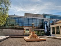 Bilbao Fine Arts Museum, Bilbao, Spain. BILBAO, SPAIN - March 29 Bilbao Fine Arts Museum on March 29, 2017 in Bilbao, Spain is the second largest and most Royalty Free Stock Photos