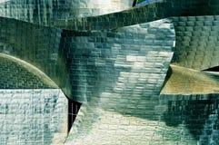 Guggenheim Museum in Bilbao, Spain royalty free stock photo