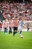 BILBAO, SPAIN - OCTOBER 16: Mikel San Jose, Bilbao player, in action during a Spanish League match between Athletic Bilbao and Rea Royalty Free Stock Photos