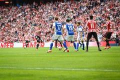 BILBAO, SPANJE - OKTOBER 16: Iker Muniain, de Atletische speler van Clubbilbao, tijdens een Spaanse Ligagelijke tussen Atletisch  Stock Foto