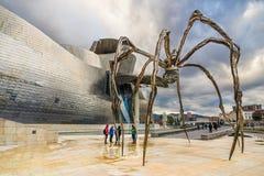 Bilbao spindel Arkivbild