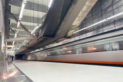 Bilbao-Stadtu-bahnstation Sarriko-Station lizenzfreie stockfotos