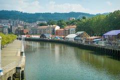 Bilbao stora Semana Arkivbilder