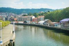 Bilbao stora Semana Arkivbild