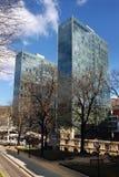 Bilbao towers Royalty Free Stock Image