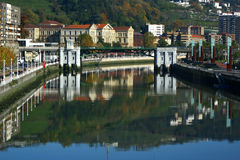 Bilbao town Stock Photography