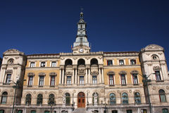 Bilbao town hall. The neo-classisistic town hall of Bilbao, Spain, during a sunny day in summertime Stock Photos