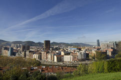 Bilbao views. Royalty Free Stock Images