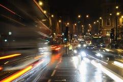 bilbegrepp som illustrerar hastighet royaltyfri bild