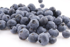 Bilberry. Close-up view of the bilberry Royalty Free Stock Photo