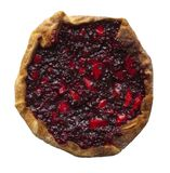Bilberry and apple pie Royalty Free Stock Photos