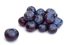 Bilberry berries Royalty Free Stock Images
