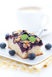Bilberry cake Stock Photography