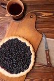 Bilberry cake Stock Photo