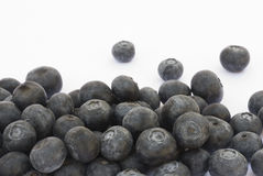 Bilberry fruit on a white background Royalty Free Stock Photography