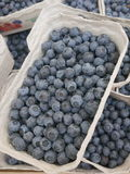 Bilberry market Stock Image