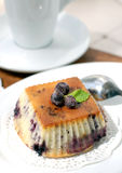 Bilberry muffin Royalty Free Stock Image