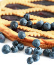 Bilberry Pie Royalty Free Stock Images