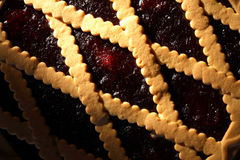 Bilberry Pie Royalty Free Stock Image