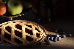 Bilberry Pie Stock Images
