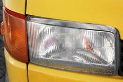 Bilbillyktor Lyxiga billyktor arkivbild