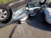 Bilbilolycka, sammanstötning, försäkring Royaltyfria Foton