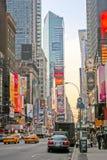 Bilboards της Times Square Στοκ εικόνα με δικαίωμα ελεύθερης χρήσης
