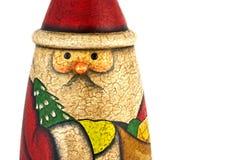 bilboquet claus santa Arkivbild