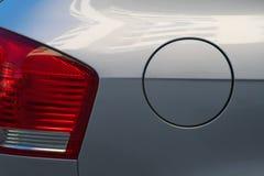 bilbränslebehållare Fotografering för Bildbyråer