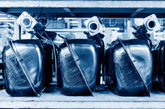 Bilbränslebehållare Arkivbild