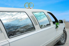 bilbröllop Royaltyfri Fotografi