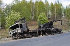 bilbrandfraktar Fotografering för Bildbyråer