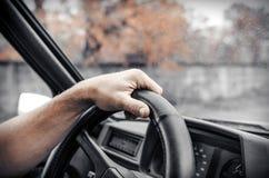 Bilchaufför Fotografering för Bildbyråer