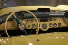 bilchevrolet klassisk corvette red Royaltyfria Bilder